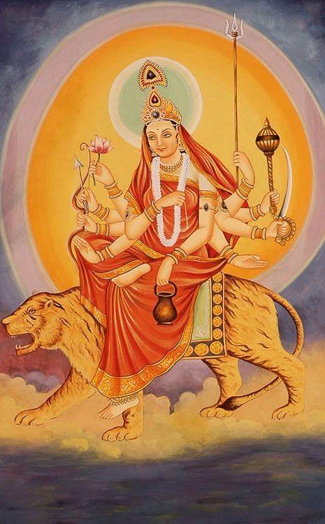 ।।ॐ देवी चन्द्रघण्टायै नमः॥  पिण्डज प्रवरारूढा चण्डकोपास्त्रकैर्युता। प्रसादं तनुते मह्यम् चन्द्रघण्टेति विश्रुता॥  #Kedarnath #Navratti #Chandraghanta #Himalaya #Shiv #Gangotri #Yamunotri #Badrinath https://t.co/WfzGQKly0a