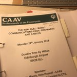 Image for the Tweet beginning: This @CAAVAgValuer New Electronic Communications