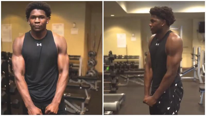 【影片】魔鬼筋肉人!狀元熱門社媒秀身材,雙臂肌肉太搶鏡!
