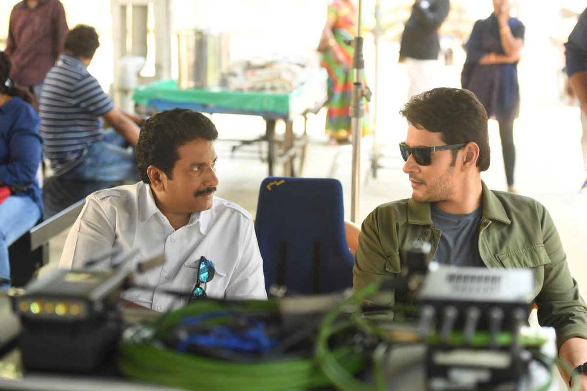 Happy birthday to my super producer @AnilSunkara1!! He's someone who keeps my shoot place fun and comfortable, which is not an easy task to achieve on a working set. Keep smiling sir... Wishing you health and happiness always! Have a great year 🤗🤗🤗 https://t.co/3QW0Ktm2VL
