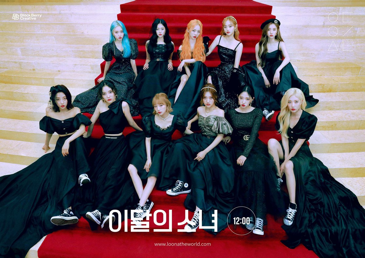 Fastest #LOONA's albums to reach 10,000 copies sold on Hanteo [12:00]: first day [#]: 3 days [++]: 4 days [XX]: 14 days @loonatheworld #이달의소녀