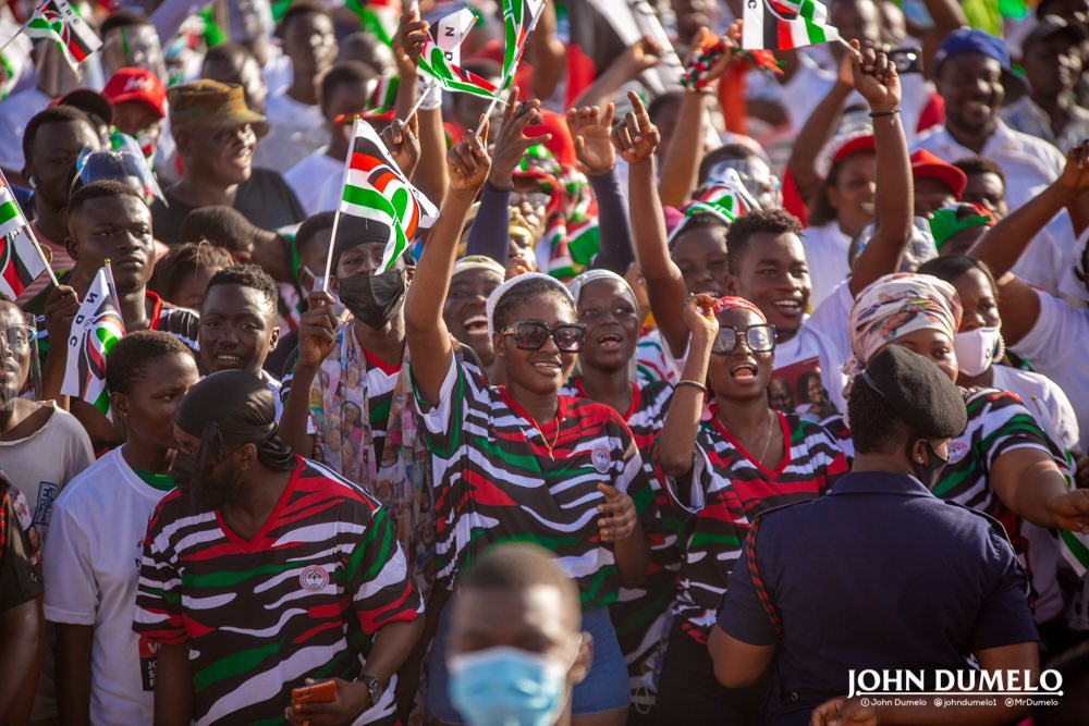 MP Aspirant for Ayawaso West Wuogon, John Dumelo attracted a mammoth crowd after he mounted the podium over the weekend at the launch of his campaign to contest for the seat in the constituency.