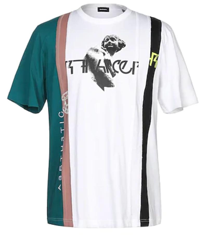 ARASHI's Diary -Voyage- #15大野智くん 私服 Tシャツ5人でのレコーディングシーンや「Turning Up(R3hab Remix)」ダンス映像などで着ていたDIESELのTシャツ。#大野智 #嵐 #ARASHI