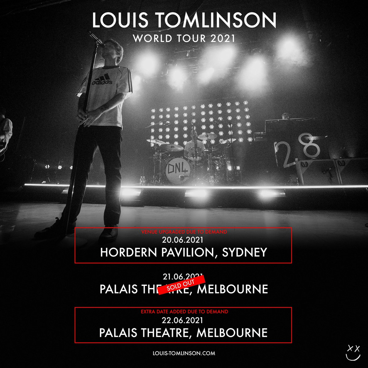 AUSTRALIA! Louis has upgraded his Sydney show and added a second show in Melbourne for the World Tour in 2021. Tickets are on sale on Thursday 22nd October at 12pm AEDT.  Who will we be seeing there?!