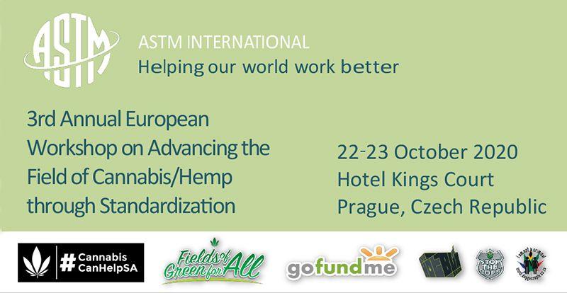 3rd Annual European Workshop on Advancing the Field of Cannabis/Hemp through Standardization   Fields of Green for ALL https://t.co/mmz1hKnnhX #CannabisCanHelpSA #legalcannabisinsouthafrica #KnowYourFarmer #FullSpectrumModel #DaggaCanHelpSouthAfrica #cannabisclub https://t.co/AiSZuunHue