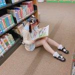 Image for the Tweet beginning: 今日は実家の近く図書館に行きました。いろいろな思い出してしまいました。  Cheerzで投稿できたよ! あいちゃんに通訳してくれました。🥺💙ありがとう💕💕💕 是非是非見てください! #ミスiD2021