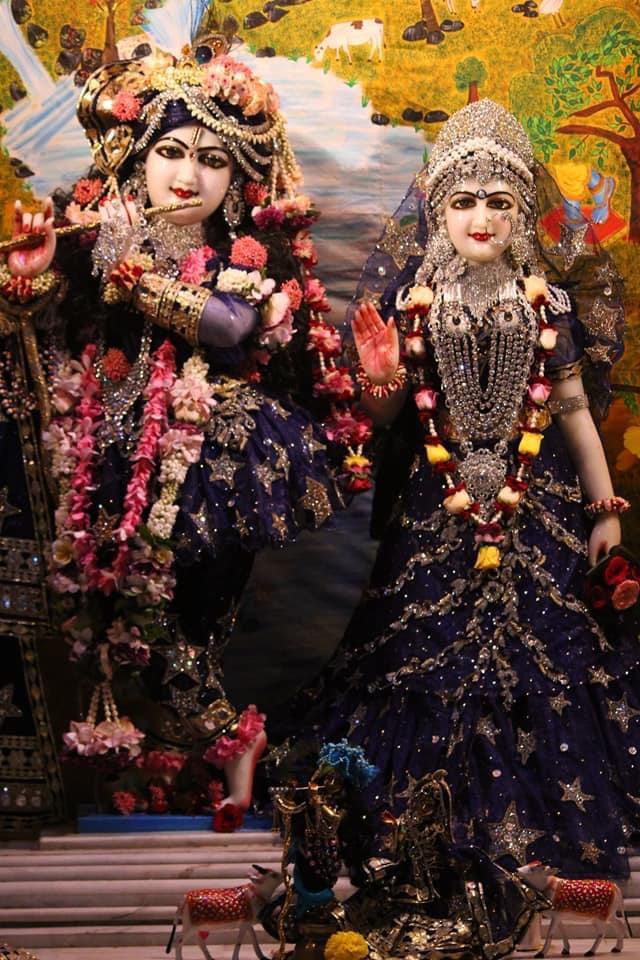Todays Blissful Darshan of #shrishriradhavrindavanchandra  @Ulhasnagar Centre @AnandVrindavan Dham  For more details contact on- +91-7066727666 +91-9284826810 #krishnaconsciousness #kaniya #radharani #Jaganath #GaurNitai #Narsinghdev #shrimadhusudanbapuji #damodardas #radhekrshna https://t.co/j7yuizcYaT