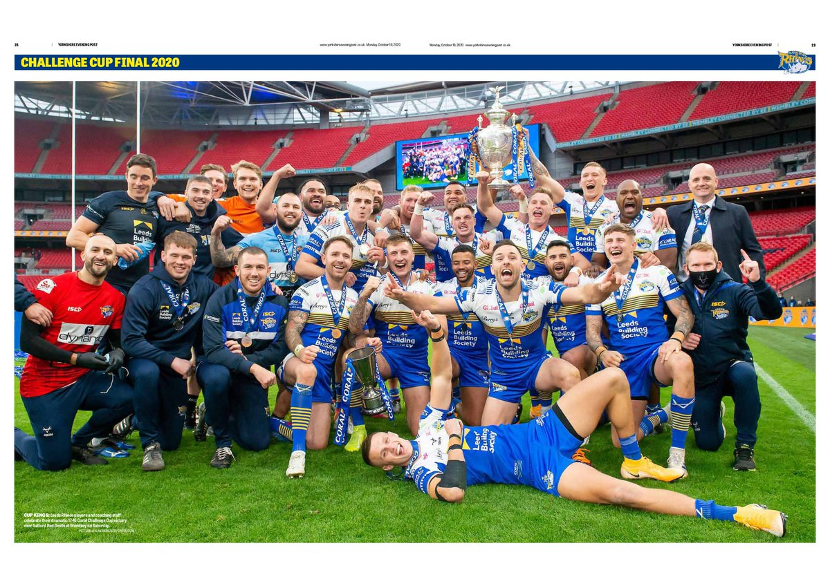 Ill ask thi again...does tha like rrrrrrrrugby league? Good, because so do we at the @YEPSportsdesk especially when @leedsrhinos win another big final @PeterSmithYEP at the wheel.