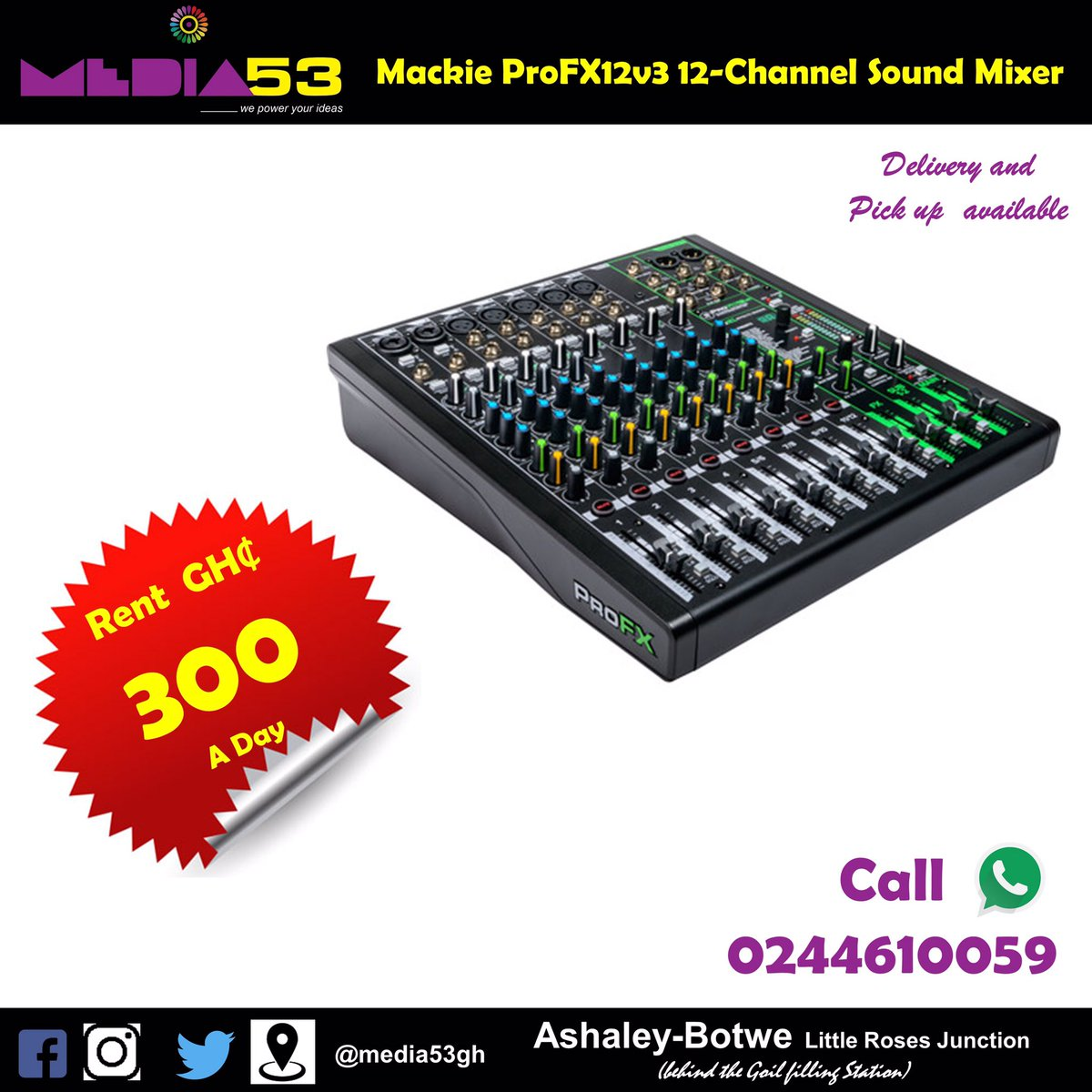 This one for your mix  .                #Media53gh   #ghanawedding   #GhanaNews   #media   #productions    #events https://t.co/GJVWY8a9RU