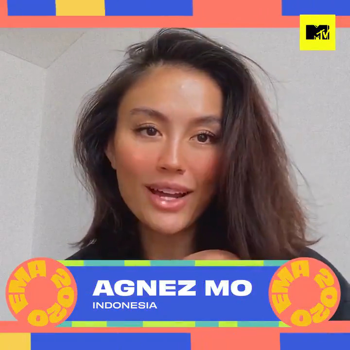 Reppin' Indonesia for Best Southeast Asia Act at this year's #MTVEMA, it's the one and only @agnezmo! 😍 Don't miss the 2020 @mtvema, 9th Nov at 7.50PM (WIB), 8.50PM (SG/MAL) on MTV Asia! Vote now at  #agnezmo