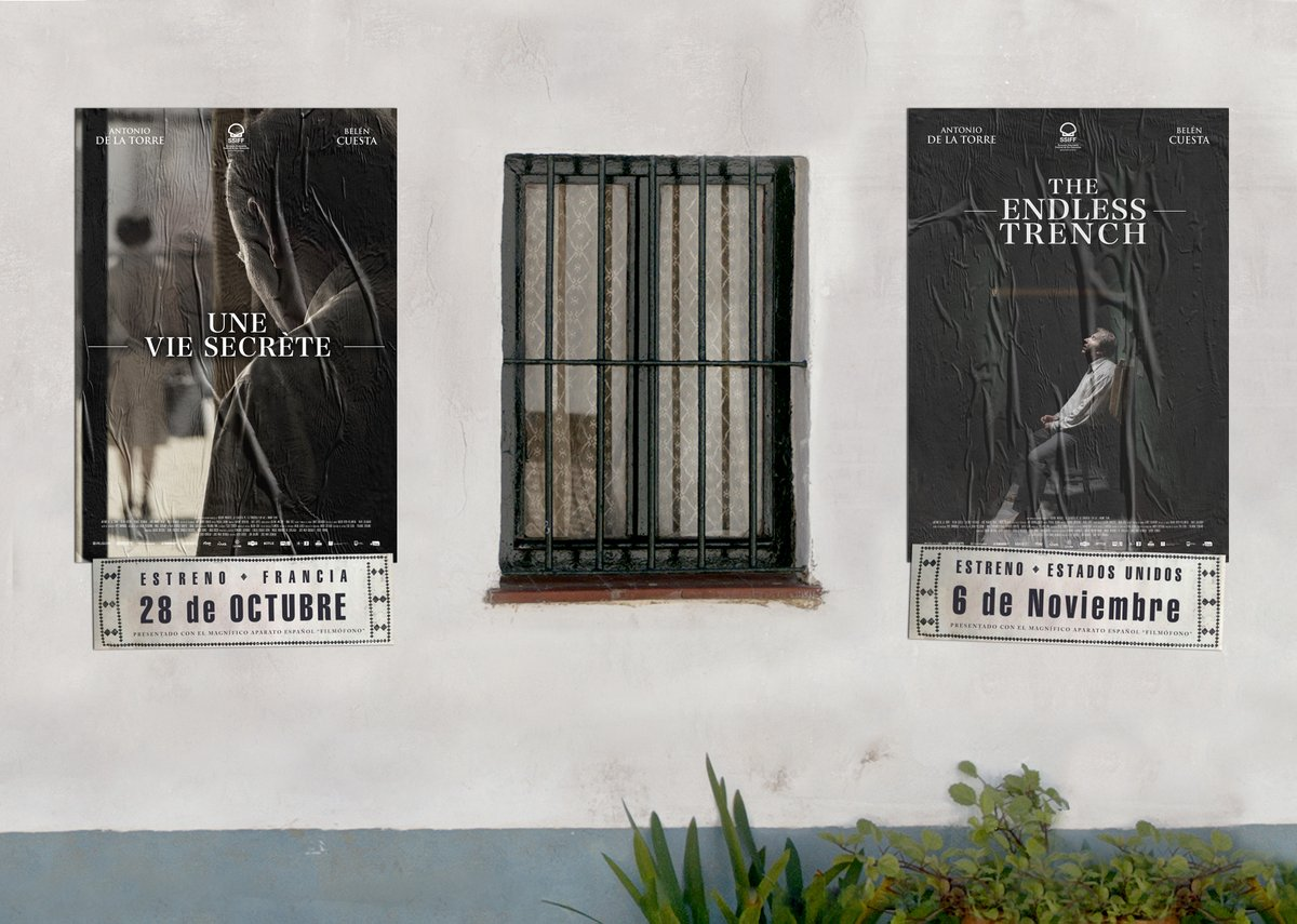 Estrenamos en EEUU!!! @netflix estrenará @latrincherafilm el próximo 6 de noviembre. La plataforma apuesta por un potente estreno en pleno  arranque de la temporada de premios #gotrench https://t.co/UGknL5X5A1