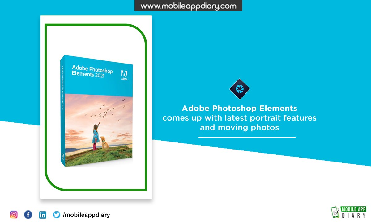 Adobe is set to release its 2021 versions of Photoshop Elements and Premiere Elements software for editing photos and videos, respectively. These new apps will use AI to help users easily edit, create #Mad #MobileAppDiary #adobe #adobeillustrator #adobephotoshop #adobelightroom https://t.co/ZkBSFSoc10