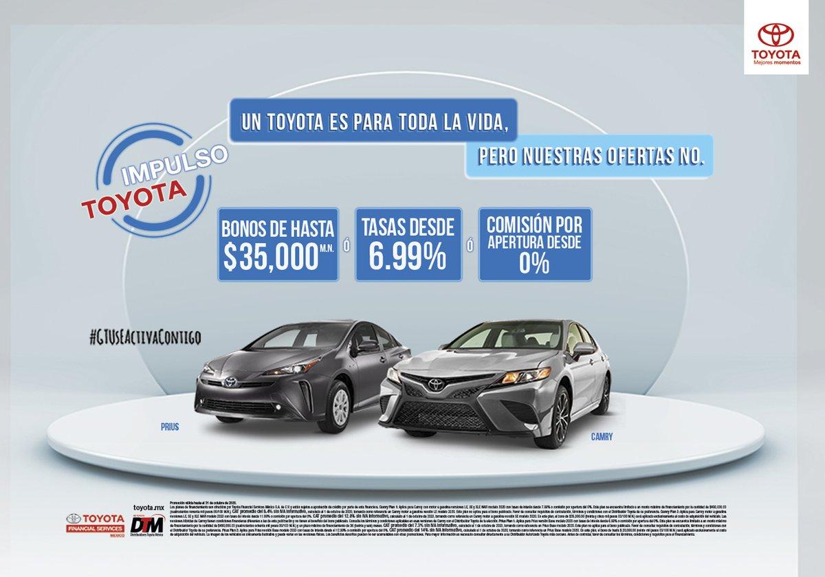 🏁 Inicia la semana estrenando tu #Toyota 🚗, solicita una cotización por whats 📲 https://t.co/8xhb0lrFw8 Más información: https://t.co/zYM4EOxa08 #ToyotaCuernavaca https://t.co/N7WSAWNIP2
