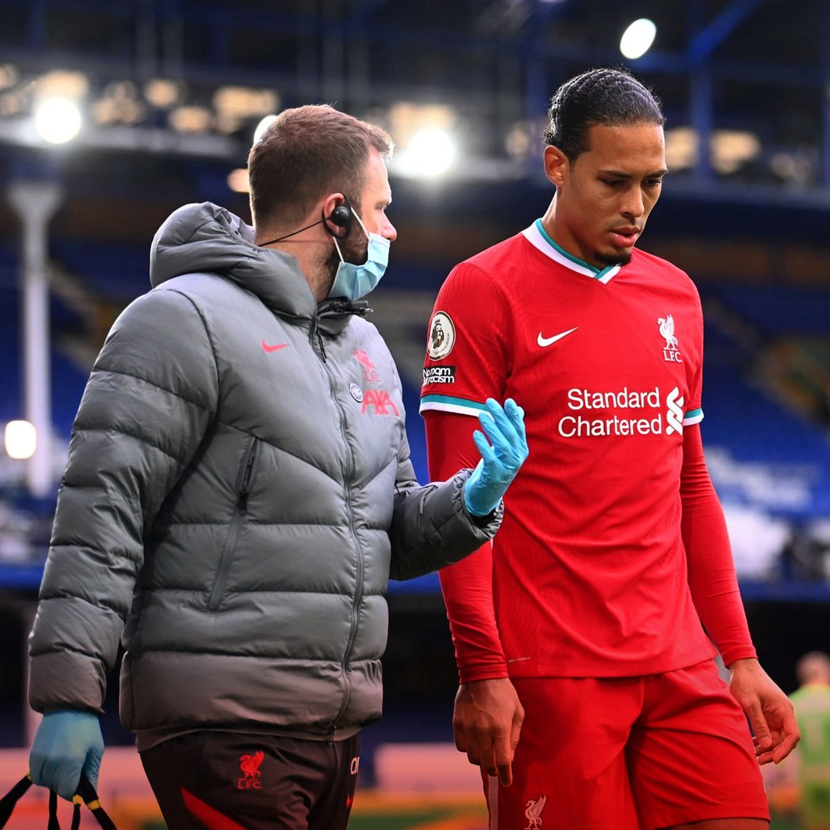 Liverpool are continuing to push for answers over the incident which has wrecked Virgil van Dijk's season after receiving contradictory explanations of how the match officials dealt with Jordan Pickford's challenge. #awlfc [@_pauljoyce]