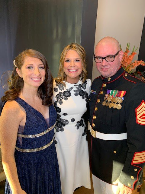 Tomorrow! I'm proud to host @DoleFoundation 3rd Annual Heroes and History Makers and share the remarkable stories of our nation's military caregivers like Colleen Rose. Their lives have a wonderfully happy update!! 1/2