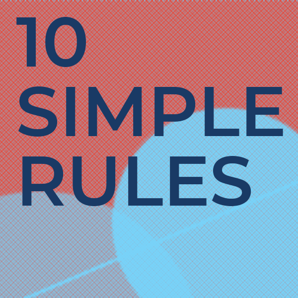 """Check out our newest Ten Simple Rules article from Hattab and colleagues, """"Ten simple rules to colorize biological data visualization"""" - https://t.co/2G19RYL284 https://t.co/P8AelVX3va"""