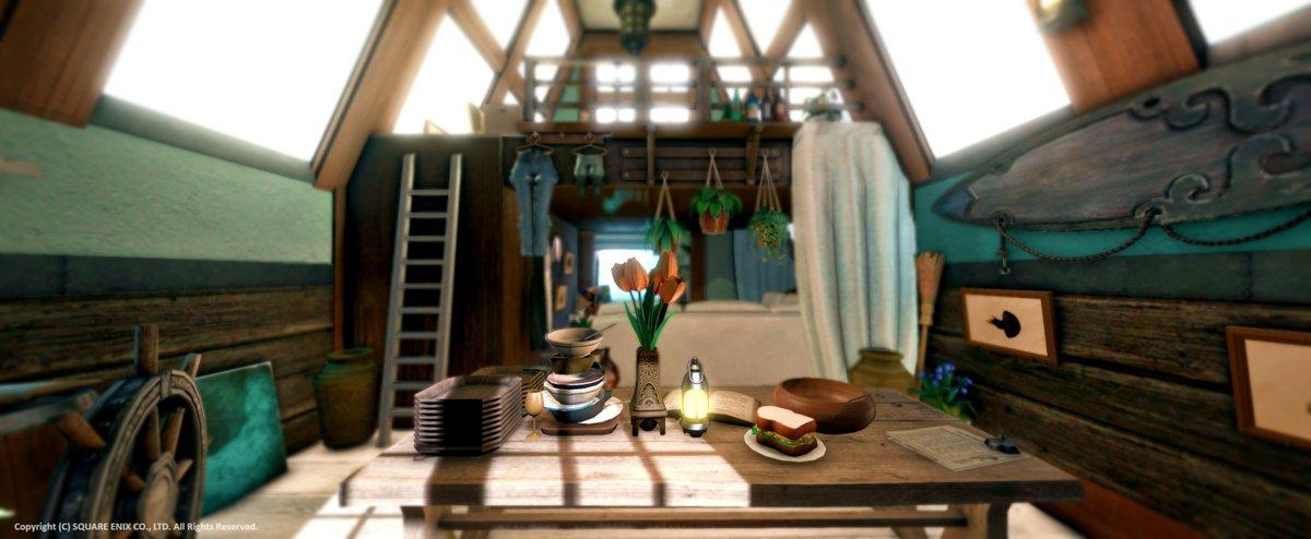 FC別荘購入につき海の見える別荘を作りました。Anima/ミスト拡張22区/58番地#FF14 #FF14ハウジング