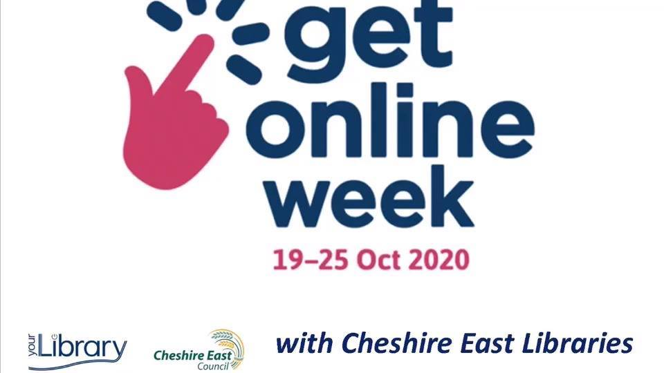 In our first #GetOnlineWeek video Cate will show you how to use our eBooks. Watch her video on your #CheshireEast library's Facebook at 7 this evening. Get started at: https://t.co/SnKxNkIny5 #LibrariesFromHome @getonlineweek https://t.co/z2CZetWMFb