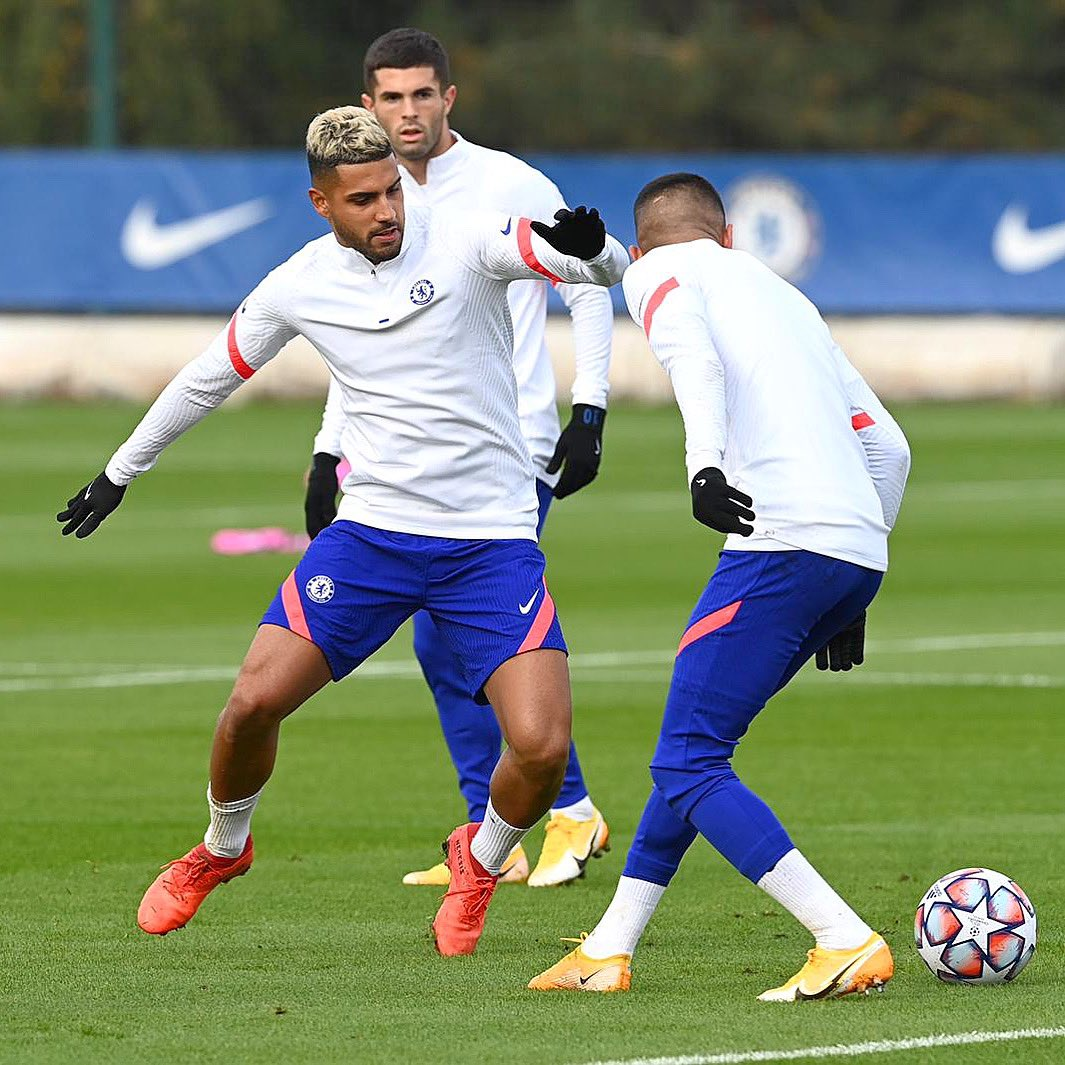 @ChampionsLeague is back! 💪🏾⚽️ #CFC