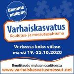 Image for the Tweet beginning: Olemme tällä viikolla mukana #varhaiskasvatusmessut