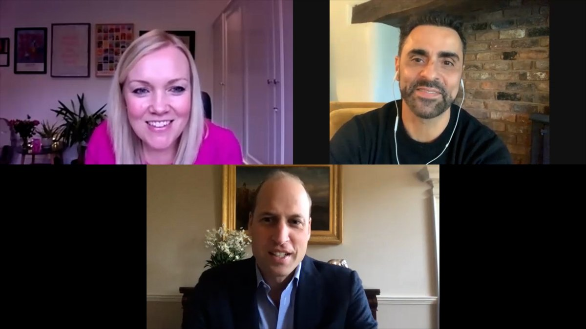 Today The Duke of Cambridge joined a video call with two business owners from the hospitality sector in Liverpool, Natalie Haywood and @YousefCircus, to hear more about the challenges they have faced as a result of the coronavirus pandemic. https://t.co/OW1OMF8BNE
