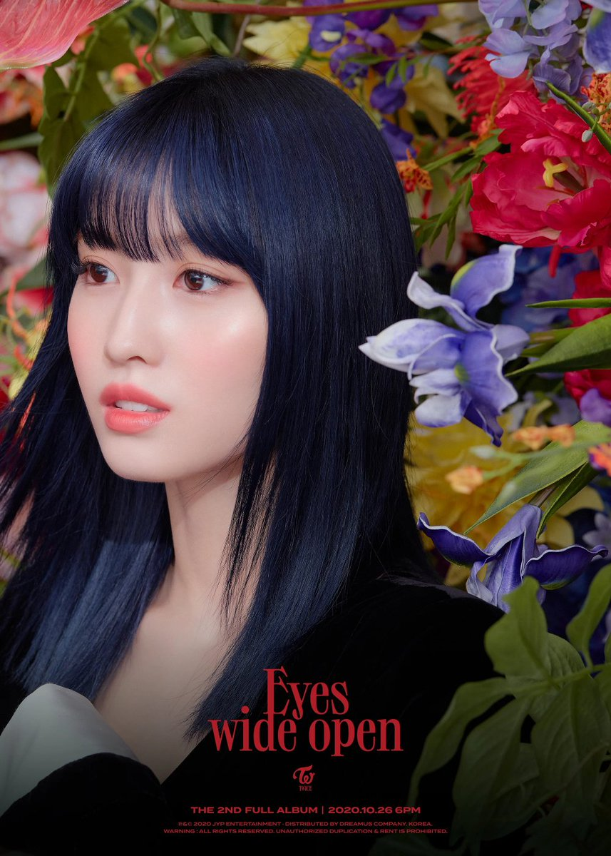#TWICE's #Momo boasts of two completely different charms in the teaser material for 'Eyes Wide Open' https://t.co/HTKWkoBaJs https://t.co/fyFhNuwBEG