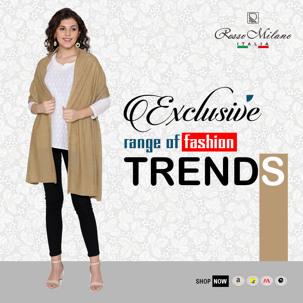 Roso Milano is an #ultimate combination of #style, grace, and #comfort. Get a #breathtaking look to define your #appearance in an #effective way possible. Navigate to Flipkart/Myntra/Amazon and #avail of lucrative #deals. https://t.co/WRXIciMxqk