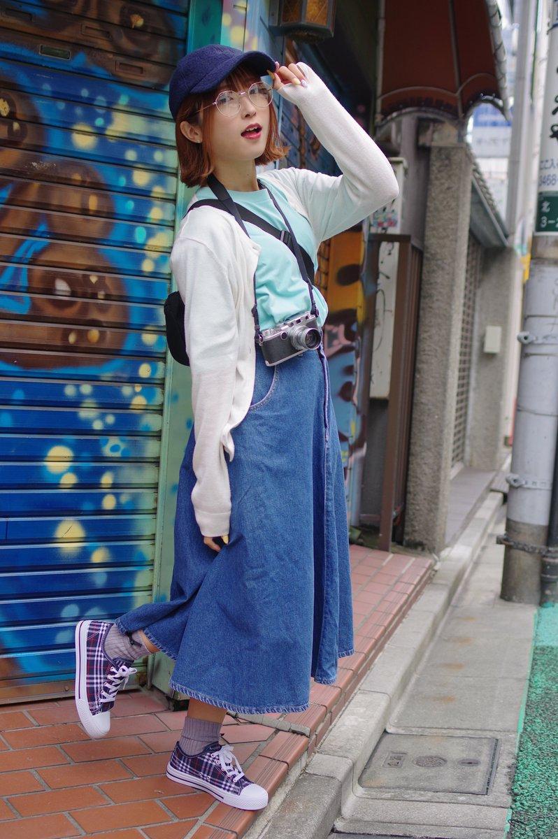 #栞里 @Shiori00624 #arch撮影会 @arch_satsueikai #下北沢 #カメラ女子 #PENTAX 栞里@下北沢 2⇒