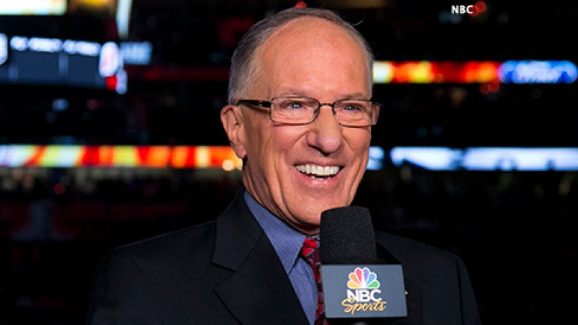 Happy trails and retirement to the legendary Mike 'Doc' Emrick.   Congratulations on a magnificent broadcasting career and many thanks for your dedication to the game.  #TSNHockey https://t.co/XPzCXtaCb9
