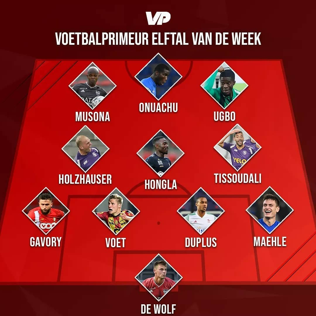 Belgian News. Paul Onuachu and Ike Ugbo named in the Belgian premier league team of the week by https://t.co/ozVNH9iCnf . Paul scored his 8th goal in 8 games and Ike Ugbo scored two for Cercle Brugge last weekend https://t.co/ypNwyZsXv4 https://t.co/mdN4gxFPLa