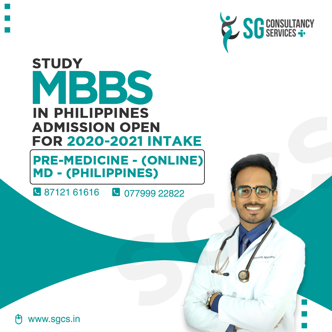Study at Davao medical college which offers an American style of teaching with international standard learning facilities. You will be able to access your first year of Pre-Medicine program from your home country and the remaining 4 years in Philippines. Get in touch with SG for direct admissions.   Phone: 08143900222 / 7799922822 / 8712161616 Learn more at www.sgcs.in  #sgconsultancy #mbbs #studymbbsabroad #davaomedicalschoolfoundation #studyabroad #abroadeducation #medicalstudent