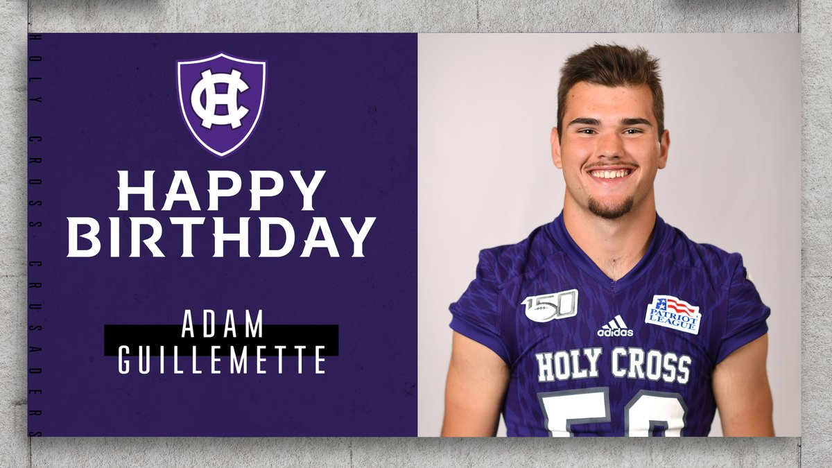 Everyone wish a happy birthday to sophomore LS @IamAdam40! #GoCrossGo
