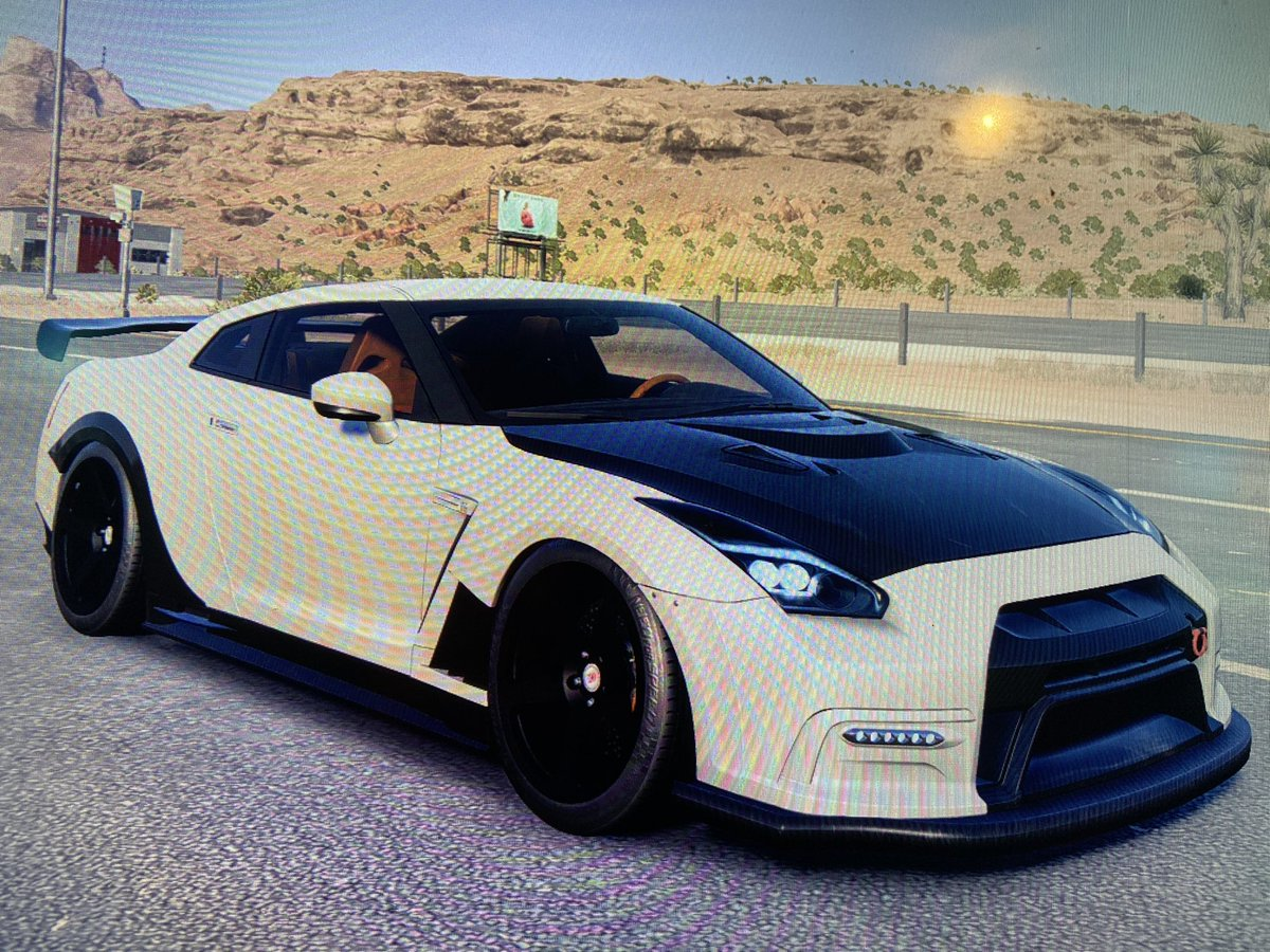 Playing need for speed. Just to mess around. I do love my GTRs very much. @NissanUSA could you pull something like this off? #GTR https://t.co/raKHBr27wO