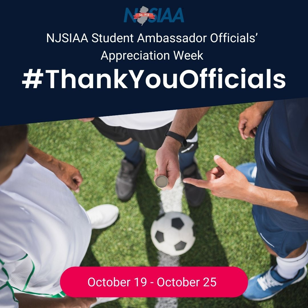 This week, we're showing our appreciation of sports officials who help to make all our sports possible! You can do the same … by working with your coach or athletic director to recognize officials before a game. #ThankYouOfficials