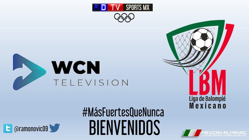 #Futbol   A partir de la #Jornada2 #MexicanAlmanac y #RDTVSports Da La Bienvenida a @SomosBalompie Daremos El Tradicional Flyer de Los Partidos de #LBM Con La información de Las Fechas, Horarios, que se transmiten En Las Pantallas de  @WCNTelevision    #LigadeBalompiéMexicano https://t.co/YjDIjqZ1Oo