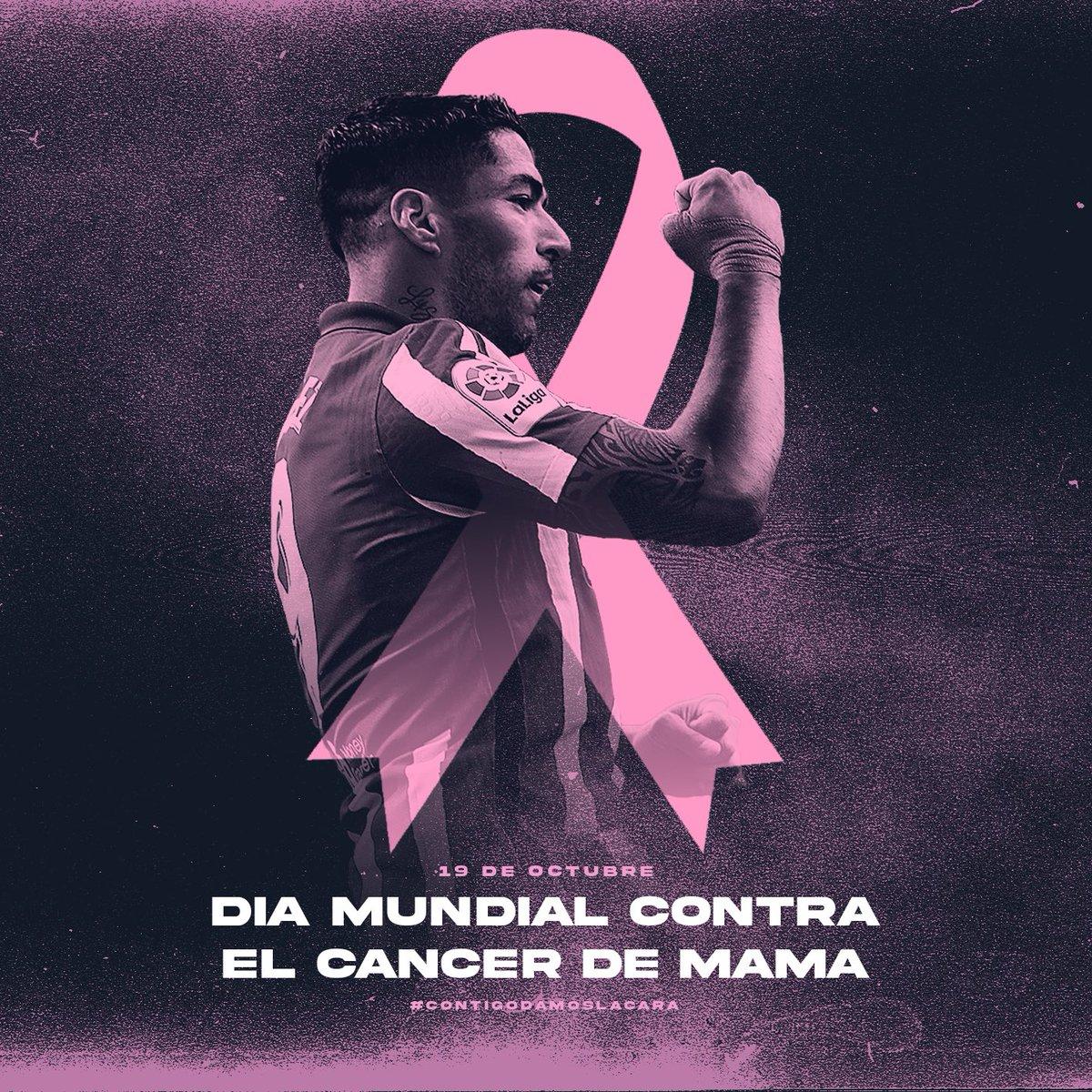 Día mundial contra el Cáncer de mama 💕💕 Mucha fuerza a todas las que luchan día a día! 🙏🙏 #muchafuerzaatodas #siemprepositivas