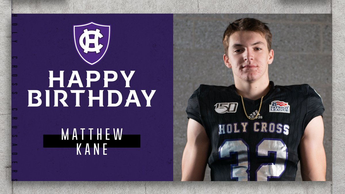 Lets also say happy birthday to freshman DB @matthew_kane32! #GoCrossGo