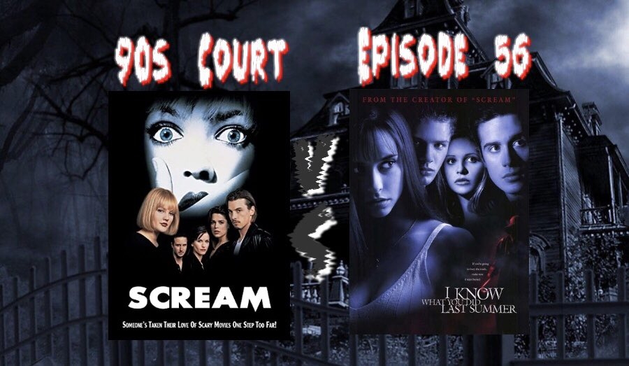 🔪Episode 56 Is Here! 🗡  Sometimes you don't have to get cute of clever for a court case...sometimes they pair themselves. Who ya got? Either way it will be....unpleasant 😈.  ITunes: https://t.co/f7X0MjlBYu  #90s #PodNation #LadyPodSquad #Scream #Slasher #scarymovies #horror https://t.co/gdnaj2d8as