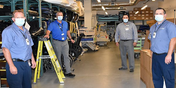 test Twitter Media - Not all heroes wear capes – or scrubs! This week we're shining the spotlight on some of the unsung heroes of healthcare. Our engineers, environmental services & maintenance staff work day in, day out to ensure our facilities are safe, clean & operational. Thank you! #NHFEW https://t.co/88WR3Iuhhi