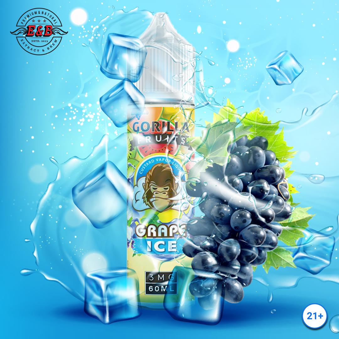 المنثول البرودة لإبقاء لكم منتعشة!🍇 غوريلا الفواكه العنب الجليد يتميز نكهة العنب العصير على يستنشق مع الانتهاء من العنب الجليد الباردة على الزفير. استمتع!😘  #enbflavor #grapeice #vape #grape #vapenation #vapefam #uaevaping #kuwaitvape #gulfvape #شيشه_الكترونيه #شيشه_تايم #سموك https://t.co/xFdBHi4uta