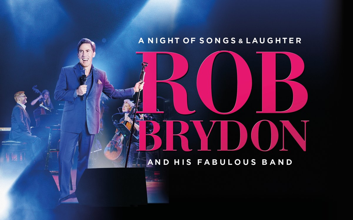 📢AWARD-WINNING COMEDIAN @RobBrydon  ANNOUNCES NEW TOUR FOR 2021 AND IT ALL BEGINS AT RHYL PAVILION ON SATURDAY 27 MARCH!  📞💻Book now https://t.co/WjRb9Z7DGo Or call the Box Office on 01745 33 00 00 https://t.co/tmXRimACNU
