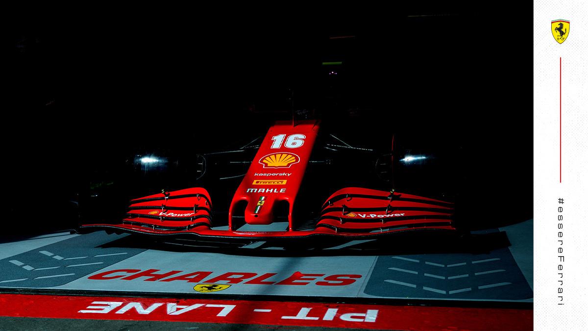 Starting a new RACE WEEK 💪  #essereFerrari 🔴 #PortugueseGP https://t.co/iaPYuJFlVB
