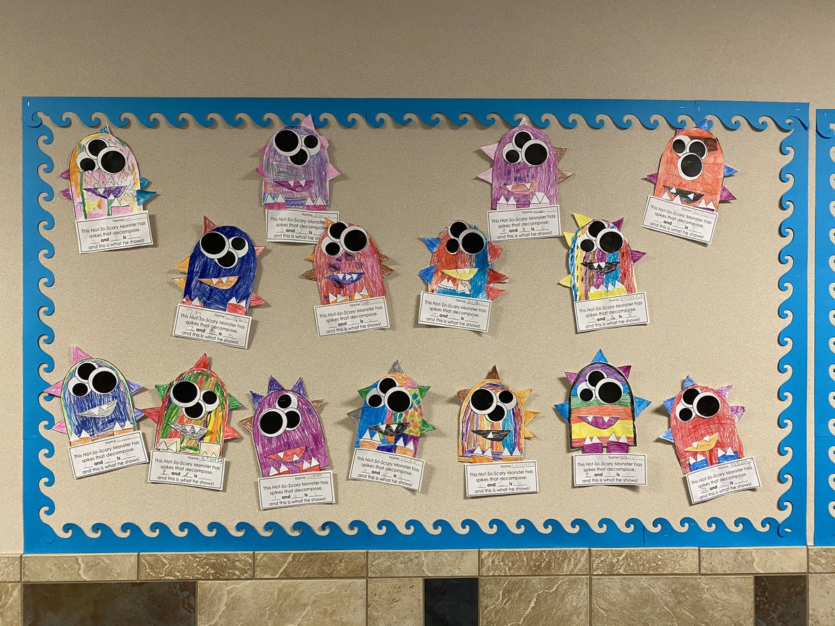 The Cutest Not So Scary Kinder Monsters I Ever Did See! 🤩 #TWEkinder #TWEhowl #WeLeadTx @KatyISD