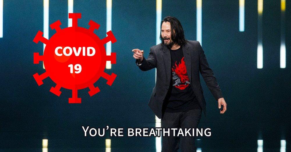Skończyłem kwarantannę, z tej okazji zrobiłem memika #memes #breathtaking https://t.co/x86W9rwjN0
