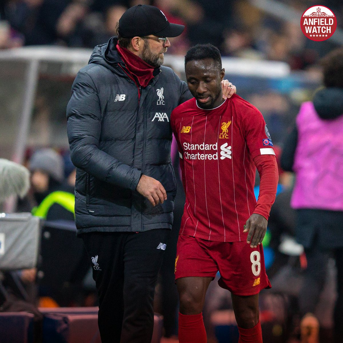 Naby Keita is back at Melwood after receiving a negative COVID-19 test result and being cleared to begin training and playing again, with Jurgen Klopp hopeful the No.8 can feature in Amsterdam. #awlfc [lfc]