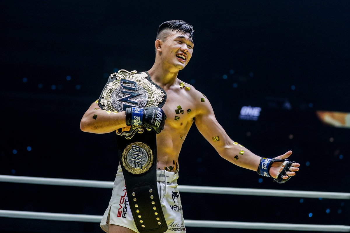 """Can """"The Warrior"""" build on a historic 2019 and hand Iuri Lapicus his first loss on 30 October? @ChristianLeeMMA #InsideTheMatrix #WeAreONE #ONEChampionship https://t.co/9BBeTphYAp"""