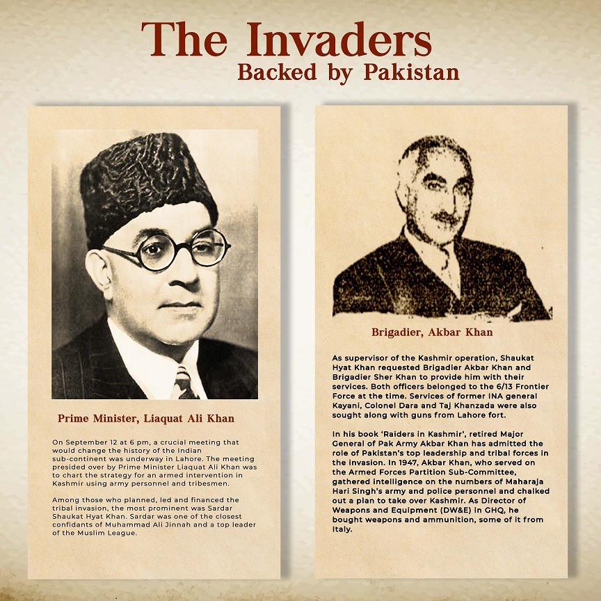 Major General Akbar Khan (Retd) of Pakistan Army in his book 'Raiders in Kashmir' admitted the role of Pakistan's top leadership in the Oct 1947 invasion of Kashmir. #22OCT1947 https://t.co/ccOVKgyRm9