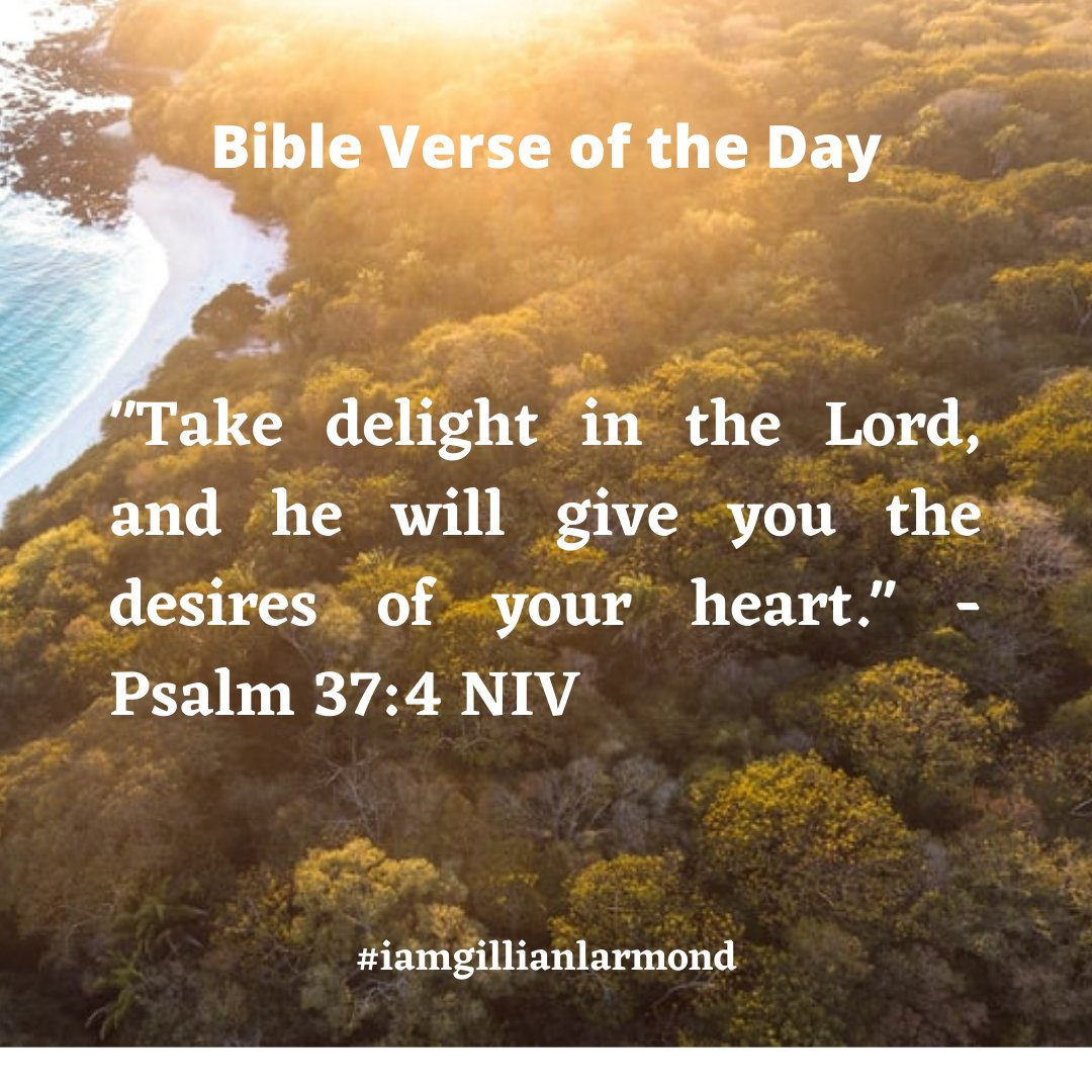 My prayer for you today is that you take delight in the Creator and be blessed with your desires. Remember to help someone today and have a joyful, peaceful and prosperous Monday 🙏😍🙏 #iloveyou #iamprayingforyou #iamgillianlarmond https://t.co/jIq8AtkrTV