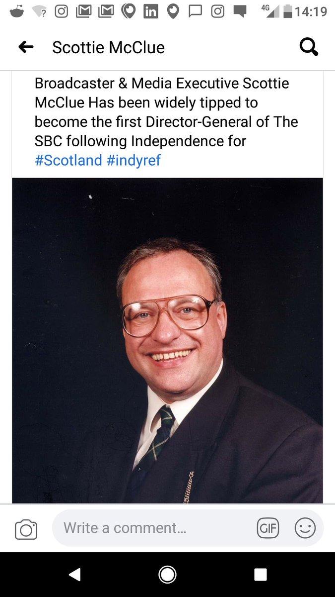 @paul__johnson Should Scottie McClue Throw His Bunnet In The Ring To Chair The BBC @BBCScotlandNews @BBCWorld @BBCNews @BBCPolitics @bbclaurak @BBCOne @BBCTwo @BBCTwoNI  #BBC #BBCBreakfast @BBCr4today @bbc5live @BBCRadio4 @BBCRadio1PR @bbc5live #BBCNews @TheSun @thetimes https://t.co/dRoQGANTFv