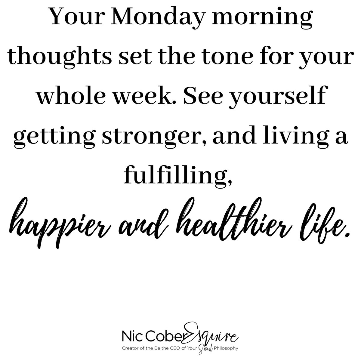 Get your mind right! Your success is linked to the thoughts and intentions you set in your mind. Let's start this week on a positive note. Your Friday will thank you for it! 😎😎😎  #monday #motivation #positivequotes #strong #success #business #womeninbusiness #smallbusiness https://t.co/PKHBfMWWGy